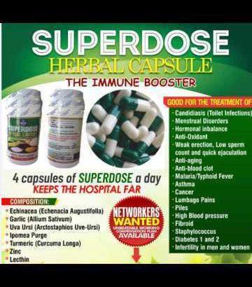 Superdose Herbal Capsule