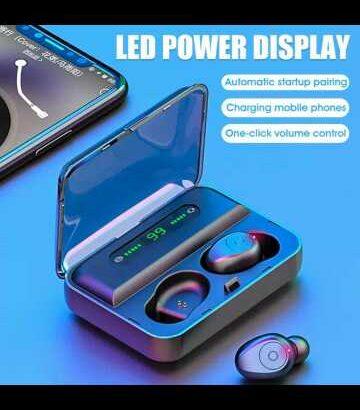 high quality wireless waterproof earphone Bluetooth earbud headphone stéréo