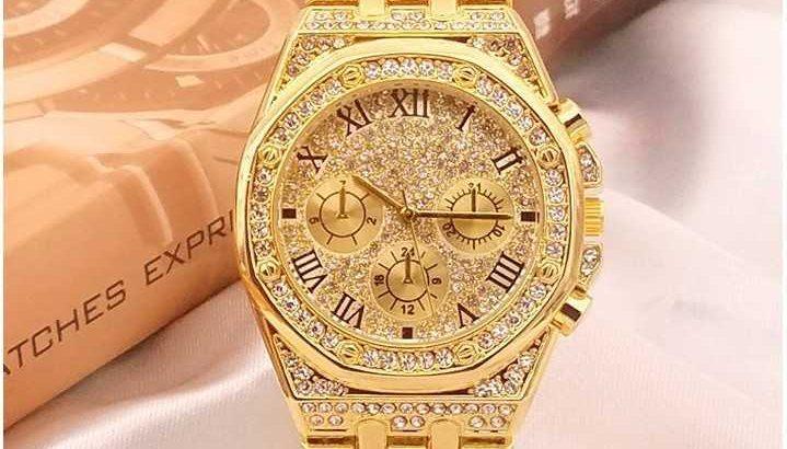 Rolex Iced watch
