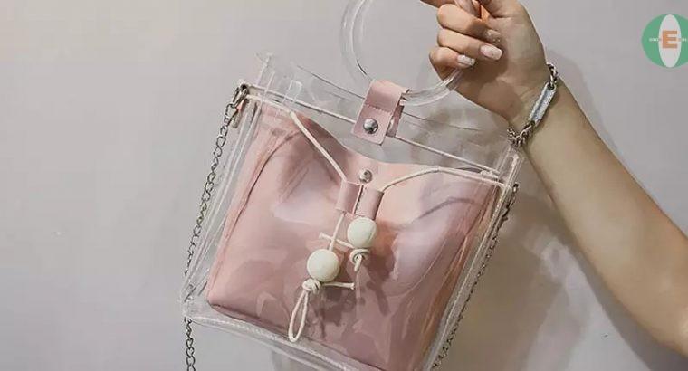 Chic Transparent Bag