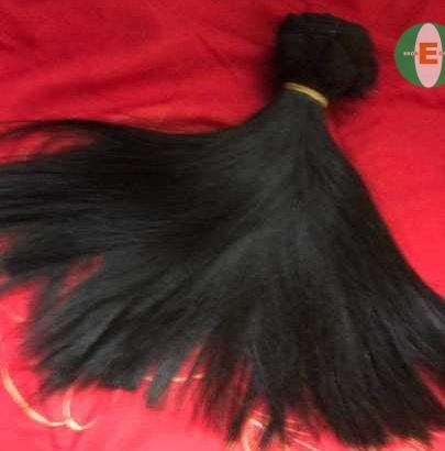 HUMAN HAIR WEAVON 300G(DDOUBLE DRUM)