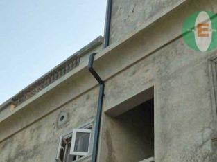 aluminum roof gutter and PVC roof gutter