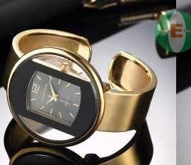 Cuff bangle watch