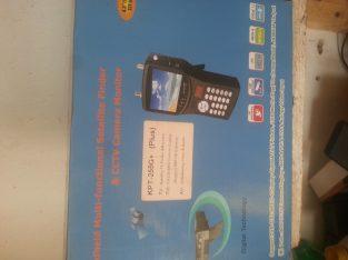 Handheld Multi-Functional Satellite Finder
