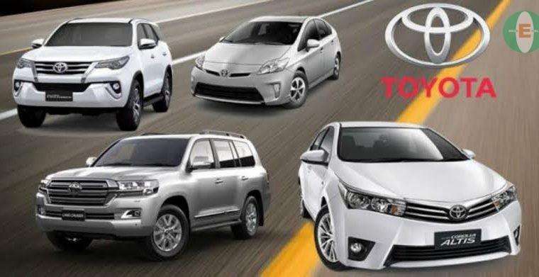 TOYOTA CAR PRICES IN NIGERIA 2019